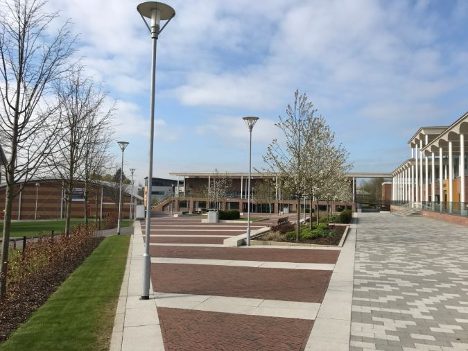 gtspecifer revisits Nottingham Trent University two years after supplying tree planting materials