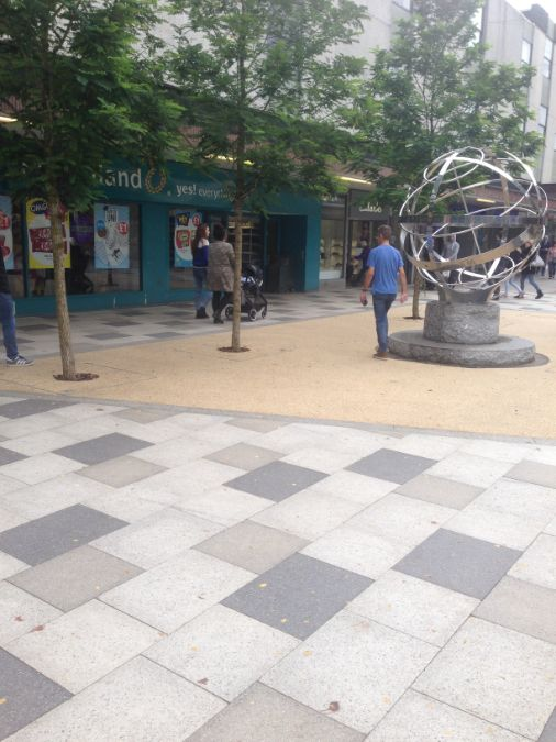 gtSpecifier supplies landscaping materials for new-look Stevenage Town Centre