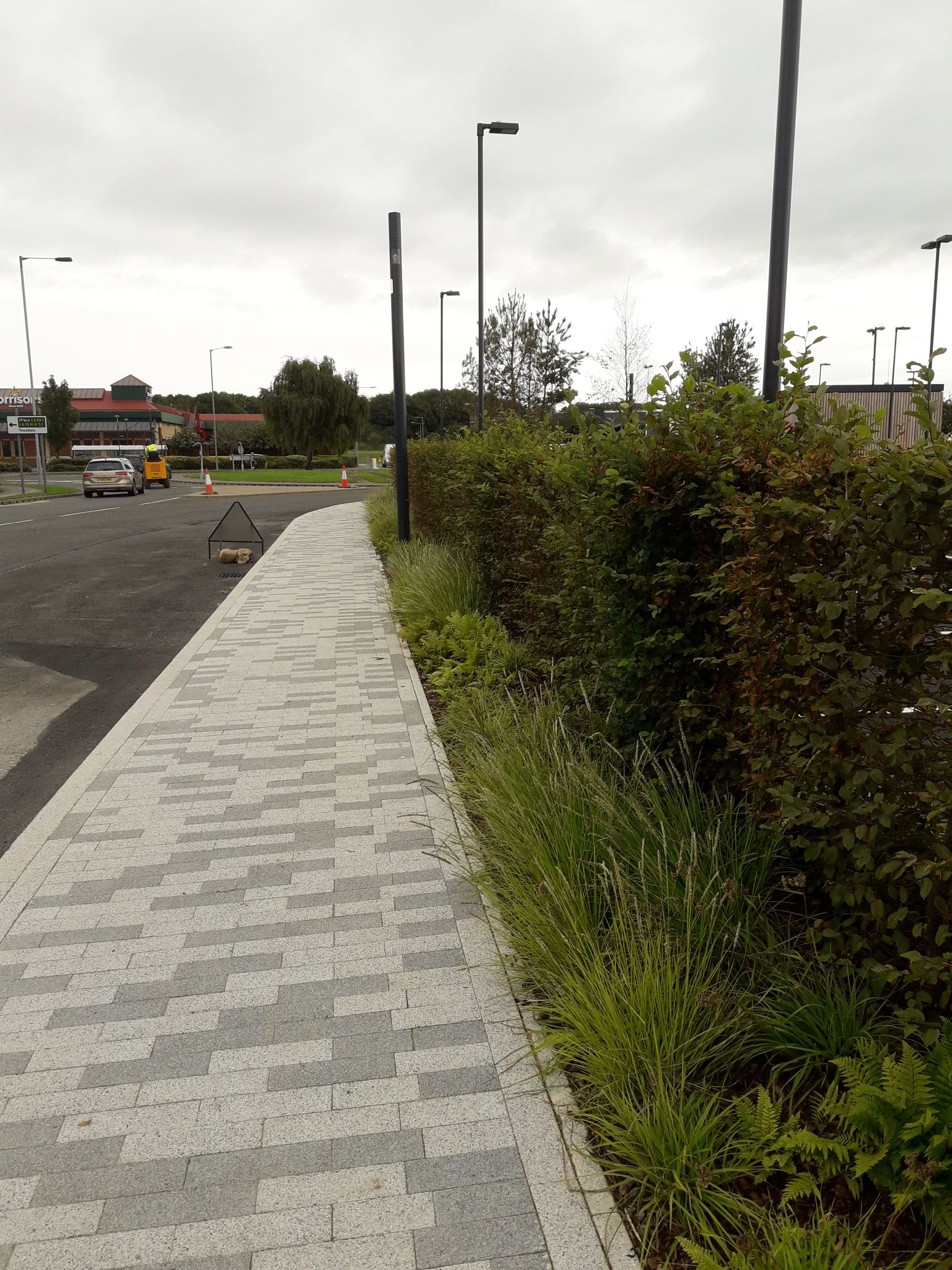 Green-tree soils specified in £30m refurbishment programme at Teesside Retail Park